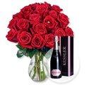 Red Sensation und Kessler Rose Sekt