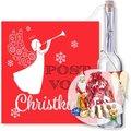 Flaschenpost Christkind und Süßer Adventsgruß