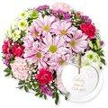 Blütenzauber und Vintage-Herz Schön, dass es Dich gibt!