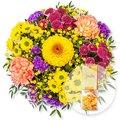 Buntes Glück und Fruchtgummi Blütenzauber