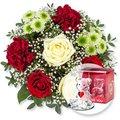 Romance und Glasbär mit Herz