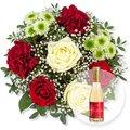 Romance und Rosenblüten-Secco Alles Liebe zum Valentinstag
