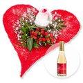 Forever und Rosenblüten-Secco Alles Liebe zum Valentinstag