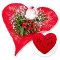 Forever und Kuschel-Herz Ich liebe Dich