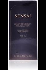 SENSAI luminous sheer foundation SPF15 #206-brown beig
