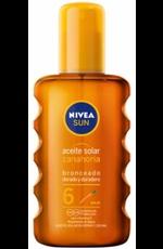 Nivea Nivea Sun Aceite Solar Spray SPF6, 200 ml