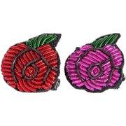 bei Lodenfrey: Sorbet Bracelets- Pin Rose Anstecknadeln 2er-Set - Damen - Trachten