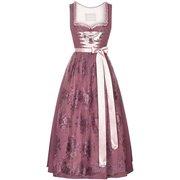 bei Lodenfrey: Silk & Pearls- Dirndl lang mit Spitzenschürze - Damen (36) - Trachten