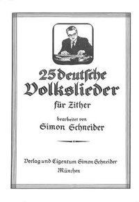 25 deutsche Volkslieder