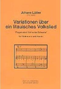 Variationen ueber ein litauisches Lied