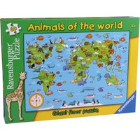 Ravensburger Animals Of The World 60pc Giant Floor Puzzle - Ravensburger Gifts