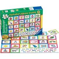 Ravensburger Alphabet Puzzle 30 Piece Puzzle - Hamleys Gifts