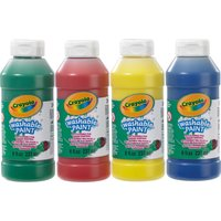 Crayola Washable Ready Mix Paints 4-Pack