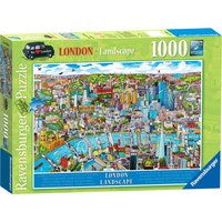 Ravensburger London Landscape 1000 Piece Puzzle - Ravensburger Gifts