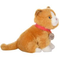 Hamleys Sitting Gold Cat Soft Toy - Soft Toy Gifts