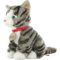 Hamleys Grey Tabby Cat Soft Toy - Soft Toy Gifts
