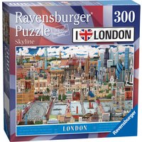 Ravensburger London Skyline 300pc Puzzle - Ravensburger Gifts