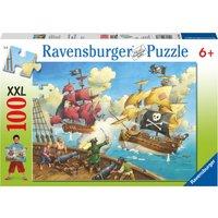 Ravensburger Pirate Ship XXL 100 Piece Puzzle - Ravensburger Gifts