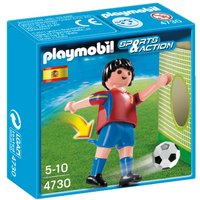 Playmobil Spain Soccer Player 4730 - Spain Gifts