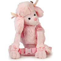 Pink Poodle Harness Buddy - Soft Toys Gifts