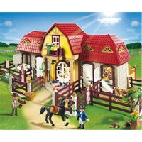 Playmobil Large Horse Farm With Paddock 5221