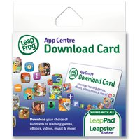 LeapFrog Explorer App Centre Download Card (UK Version)