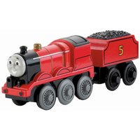 Thomas & Friends Wooden Railway Battery-Operated James - Thomas Gifts