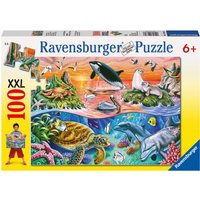 Ravensburger Underwater 100pc Jigsaw Puzzle XXL - Jigsaw Puzzle Gifts