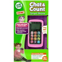 LeapFrog Chat and Count Smart Phone Violet - Leapfrog Gifts