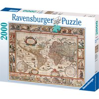 Ravensburger Map Of The World From 1650 2000 Piece Puzzle