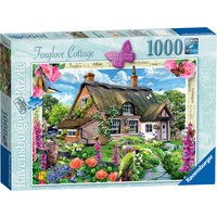 Ravensburger Country Cottage Foxglove Cottage 1000 Pc Puzzle - Pc Gifts