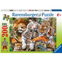 Ravensburger Big Cat Nap 200pc Jigsaw Puzzle XXL - Jigsaw Puzzle Gifts