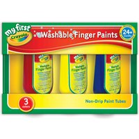 Crayola My First Washable Finger Paints 3-Pack