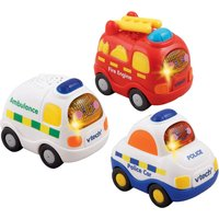 VTech Toot-Toot Drivers 3-Pack Emergency Vehicles
