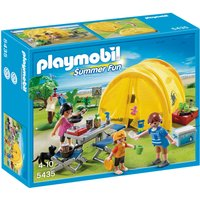 Playmobil Family with Camping Tent 5435 - Camping Gifts