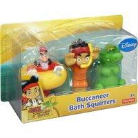 Disney Jake & The Neverland Pirates Bath Squirters - Pirates Gifts