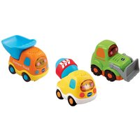 VTech Toot-Toot Drivers 3-Pack Construction Vehicles