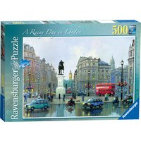 Ravensburger Rainy Day in London 500pc Puzzle - Ravensburger Gifts