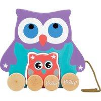 Hamleys Pull Along Mum & Baby Owl
