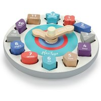 Hamleys Wooden Teaching Clock - Teaching Gifts