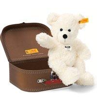 Steiff White Lotte Teddy Bear in Suitcase - Teddy Gifts