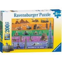 Ravensburger World Famous Buildings XXL 200 Piece Puzzle - Ravensburger Gifts