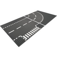 LEGO City T-Junction and Curve Plate 7281