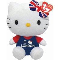 TY Hello Kitty I Love London Beanie