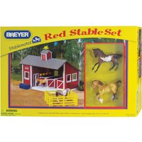 Red Stable Set - Dolls Gifts