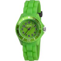 Tikkers Kids Green Rubber Strap Watch - Dolls Gifts