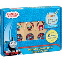 Thomas & Friends Wooden Dominoes & Track Puzzle