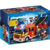 Playmobil Light & Sound Group Fire-Fighting Vehicle 5363
