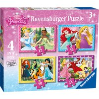Ravensburger Disney Princess 4 In A Box Puzzle - Ravensburger Gifts