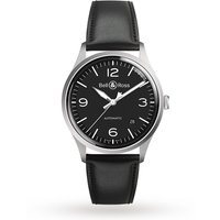 bell and ross black steel vintage watch